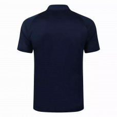 Boca Juniors Navy Football Polo Shirt 2021