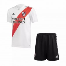 River Plate Home Football Kids Kit 2021