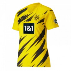 Women's Borussia Dortmund Puma Home Football Shirt 2020 2021