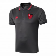 Flamengo Black Polo Shirt 2019