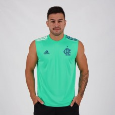 Adidas Flamengo Green 2020 Training Sleeveless Shirt