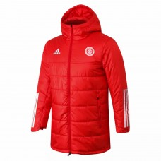 Internacional Red Winter Football Jacket 2021