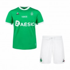 AS Saint Étienne Home Football Kit Kids 2021