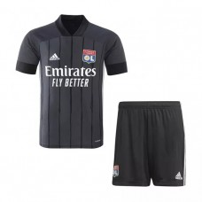 Olympique Lyonnais Away Kids Football Kit 2020 2021