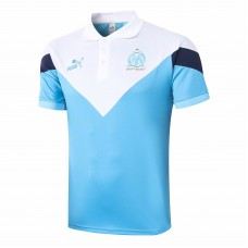 Olympique de Marseille Blue Polo Shirt 2020