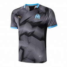 Olympique de Marseille Training Graphic Black Jersey 2018/19