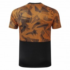 Olympique de Marseille Training Black Orange Jersey 2019 2020