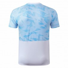 Olympique de Marseille Training White Blue Jersey 2019 2020