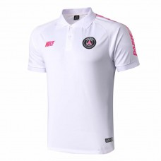 PSG Nike Polo White Shirt 2019-2020