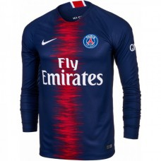 PSG Home Long Sleeve Shirt 18/19