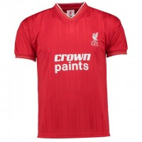 LFC Home Crown Paints Shirt 1986