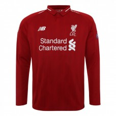 LFC LONG SLEEVE EUROPEAN HOME SHIRT 18/19