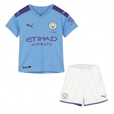 Manchester City Home Kit 2019-20 - Kids