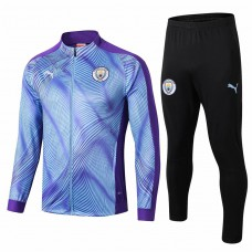 Manchester City Training Presentation Soccer Tracksuit 2019-20