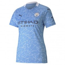 Manchester City Home Shirt 2020 2021 Ladies