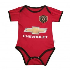 Manchester United Baby Home Romper
