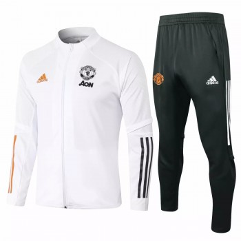 Manchester United Presentation Football Tracksuit 2020 2021