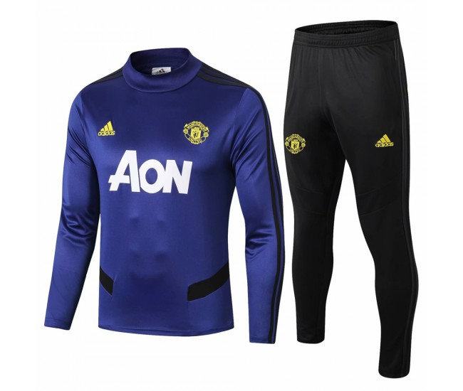 Manchester United Training Sweat Soccer Tracksuit 2019-20