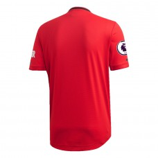 Manchester United Home Authentic Jersey 2019