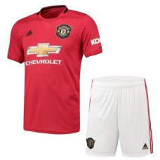 Manchester United Home Kit 2019/20 - Kids