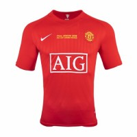 Manchester United Retro Home Jersey 2007 2008