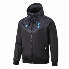 Spurs Mens Black Windrunner Jacket 2019 2020
