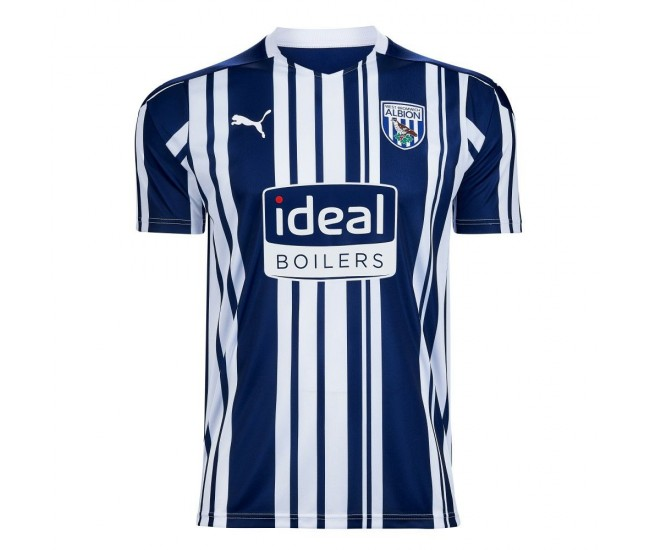 West Bromwich Albion FC Home Shirt 2021