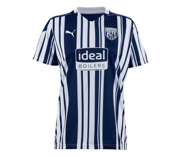 West Bromwich Albion FC Home Shirt Womens 2021
