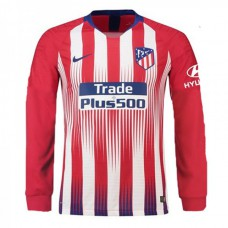 Atlético de Madrid Home Long Sleeve Jersey 2018-19