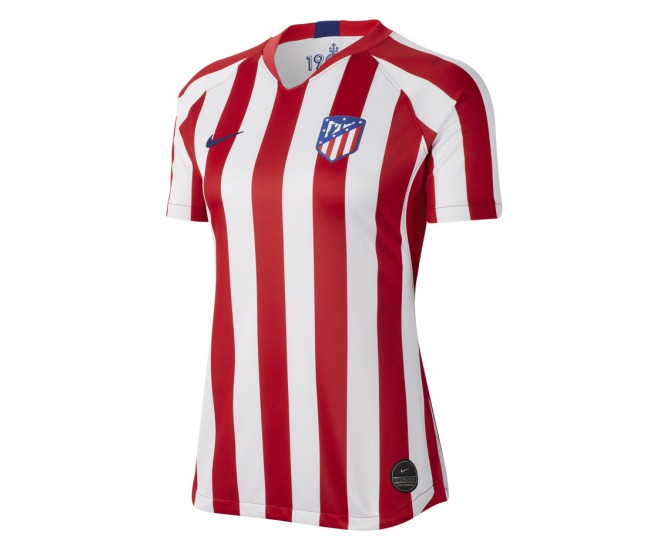 Atlético de Madrid Home Stadium Jersey 2019-20 - Womens