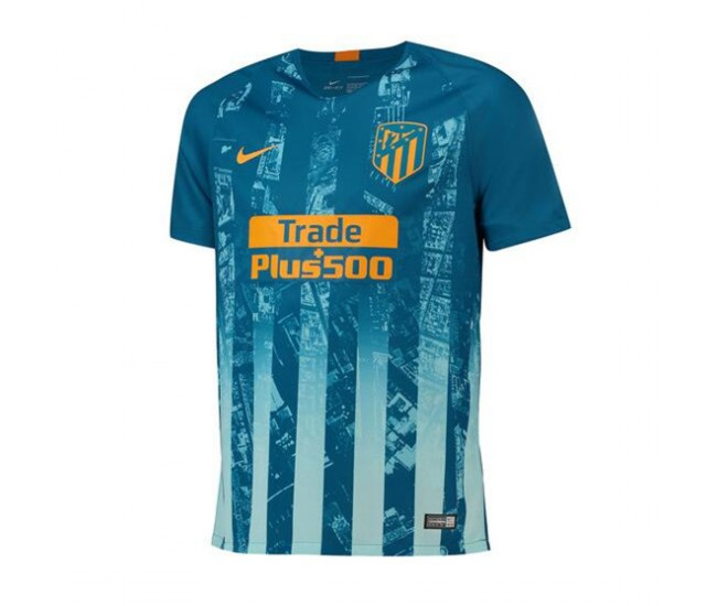 Atlético de Madrid 2018-2019 Third Stadium Shirt