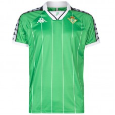 Real Betis Retro Green & White Shirt