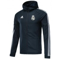 Real Madrid Full-Zip Windbreaker Jacket