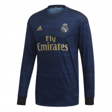 Real Madrid Away Long Sleeve Jersey 2019-2020