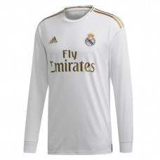 Real Madrid Home Long Sleeve Jersey 2019-2020