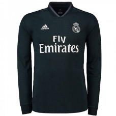 Real Madrid Away Long Sleeve Jersey 2018-2019