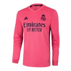 Real Madrid Away Long Sleeve Shirt 2020 2021