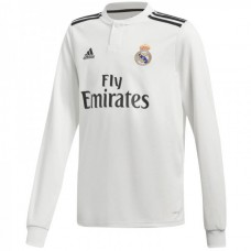 Real Madrid Home Long Sleeve Jersey 2018-2019