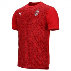 AC Milan Home Stadium Prematch Shirt 2020 2021