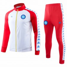 SSC Napoli Limited Edition Casual Soccer Tracksuit 2018-19 Red