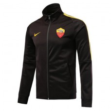 AS ROMA BLACK ANTHEM JACKET 2018/19