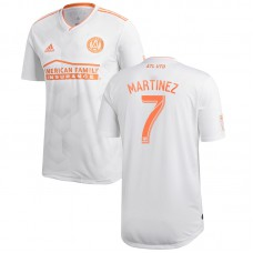 Men's Atlanta United FC Josef Martinez adidas White 2018 King Peach Authentic Player Jersey