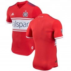 Men's Chicago Fire adidas Red 2018 Primary Authentic Jersey