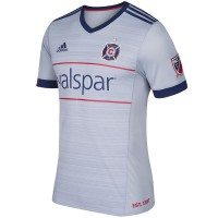 Chicago Fire adidas 2017/18 Secondary Authentic Team Jersey - Gray