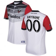 D.C. United adidas 2017/18 Secondary Authentic Custom Jersey - White