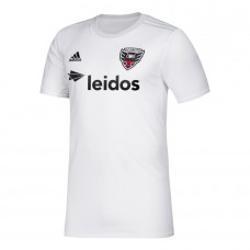 Men's D.C. United adidas White 2020 Secondary Jersey