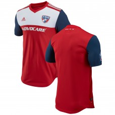 Men's FC Dallas adidas Red 2018 Primary Authentic Jersey