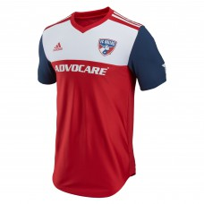 Men's FC Dallas adidas Red 2018 Primary Authentic Custom Jersey