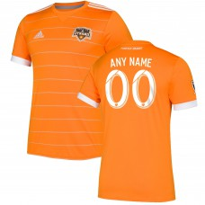 Men's Houston Dynamo adidas Orange 2018 Primary Authentic Custom Jersey