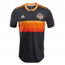 Men's Houston Dynamo adidas Black 2018 Secondary Authentic Custom Jersey